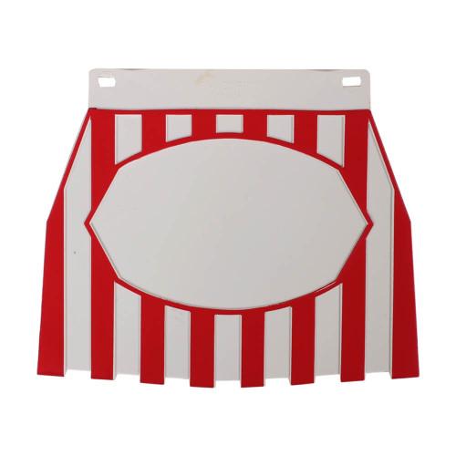 Mudflap (Red & White)