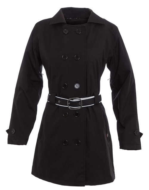 Women's Corazzo Turiste Trenchcoat-Black
