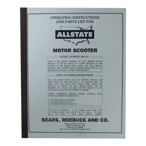 Allstate Manual (Parts Guide); 788-101