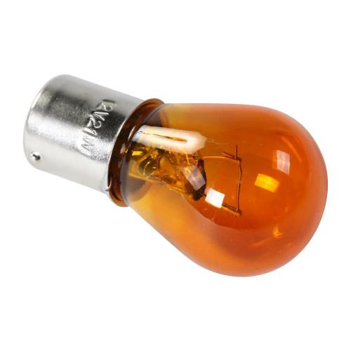 Turn Signal Bulb (12 volt 21 Watt, Yellow)
