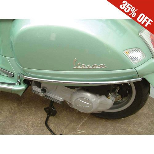 Cuppini Cowl Protectors (Chrome, art. 165); Vespa GT 200