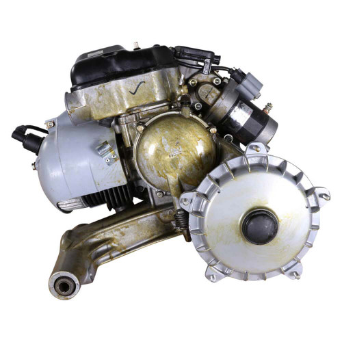 Engine, (150 cc  oil-injected 5 port w/electric start) ;