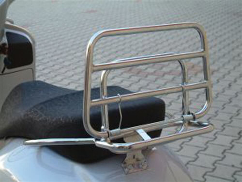 Cuppini, Rear Rack (Chrome); Vespa GTS250
