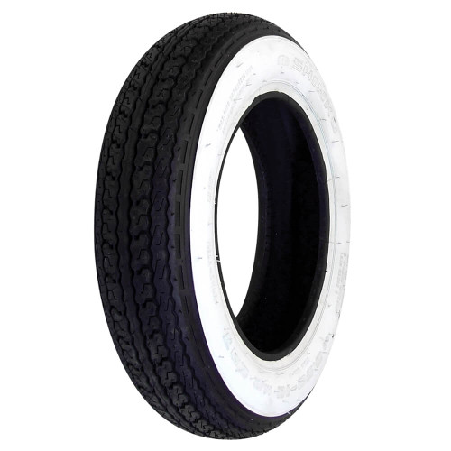 Shinko Tire (Whitewall, 3.50 x 10)