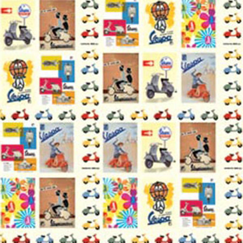 Wrapping Paper (Vespa Collage)