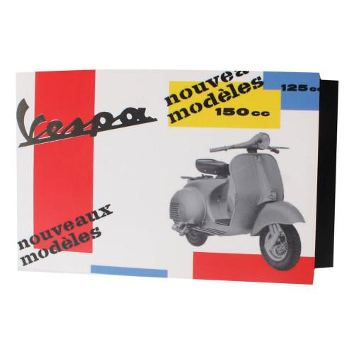 """Mini Notepad (Vespa, Nouveaux Modeles, 4.25"""" x 2.75"""")"""