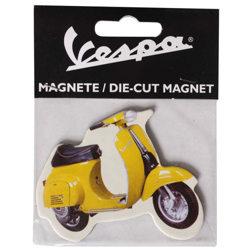 Magnet  (Yellow Vespa 50)