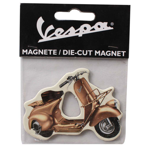 Magnet (Gold Vespa Fenderlight HB)