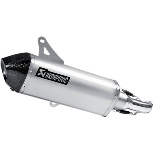 Akrapovic Slip-On Exhaust Vespa GTS/GTV-Stainless