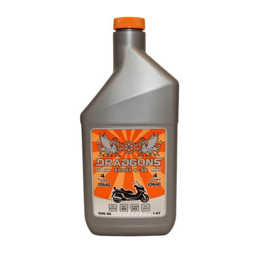 Draggons Oil (4-stroke, Semi-Synthetic, 10W40)