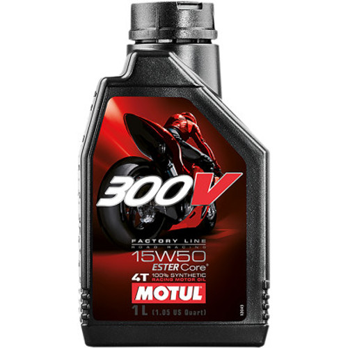 Motul 300V Synthetic Engine Oil-15W50