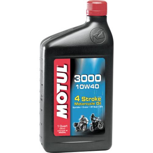 Motul 3000 4T Mineral Engine Oil-10W40