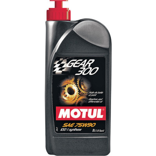 Motul Gear 300 Synthetic Hypoid Gearbox Oil