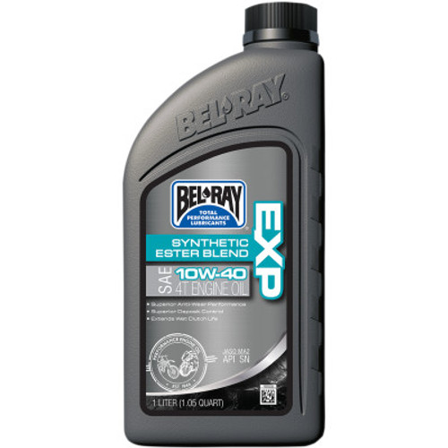 Bel Ray EXP Synthetic-Blend Engine Oil-10W40
