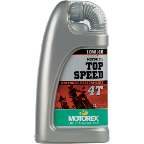 Motorex Top Speed 4T Synthetic Engine Oil-10W40