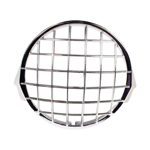 Cuppini Headlight Stone Guard (Chrome); Stella, P Series