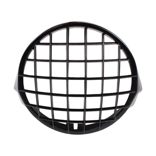 Cuppini Headlight Stone Guard (Black); Stella, P Series
