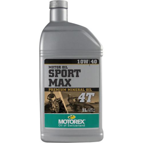 Motorex Sport Max 4T Mineral Engine Oil-10W40