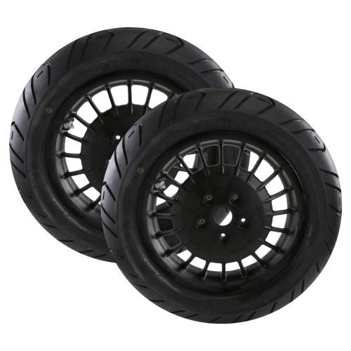 Mounted Tires and Rims (Continental Zippy 1); Vespa GTS