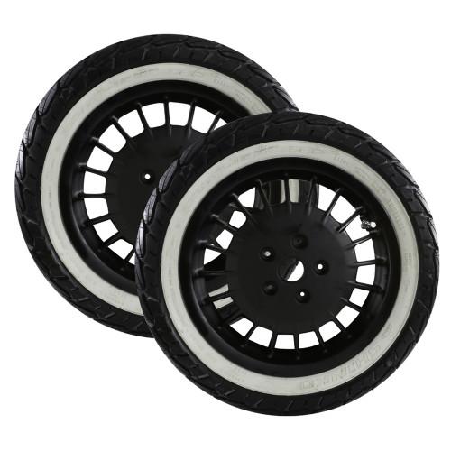 Mounted Tires and Rims (Shinko Whitewall); Vespa GTS