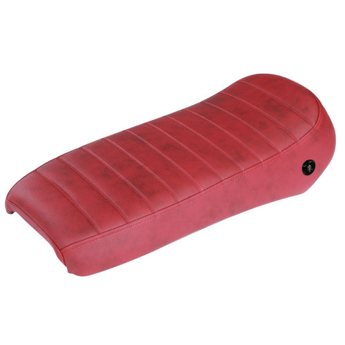 Low Profile Single Saddle Seat (Red); Royal Alloy