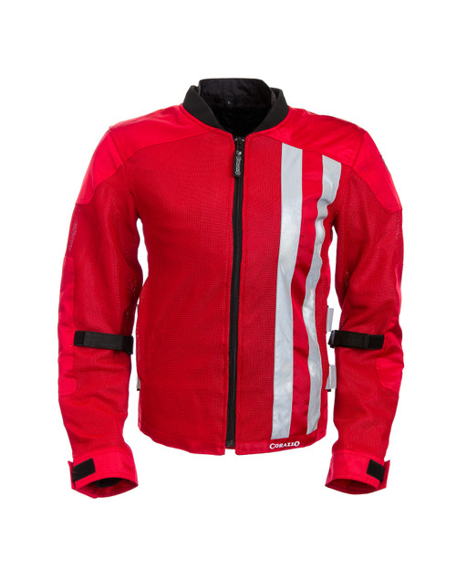 Men's Corazzo Ventata Jacket-Red-XS & Small