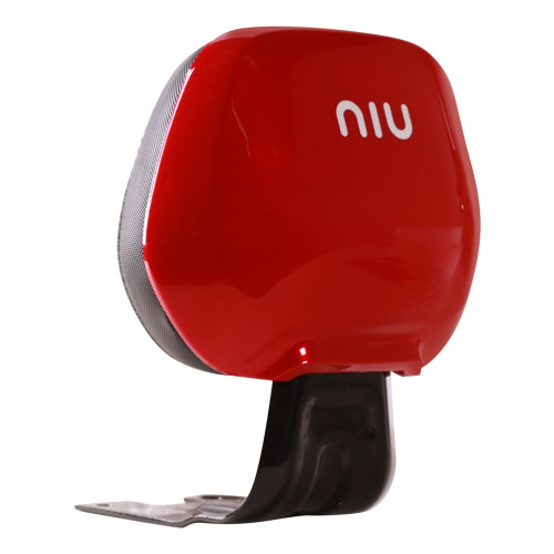 NIU Rear Back Rest; NQi GT, NQi Sport in Red
