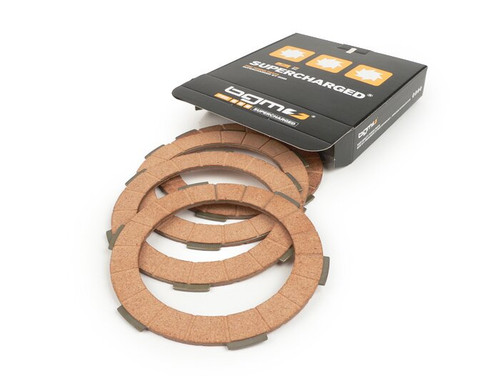 BGM Lambretta Stock Clutch Replacement Friction Plate Set
