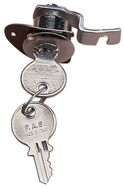 Glove Box Lock (Round 60s Type); VBB, VNB