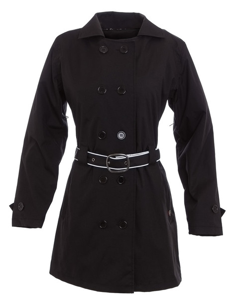 Women's Corazzo Turiste Trenchcoat-Black