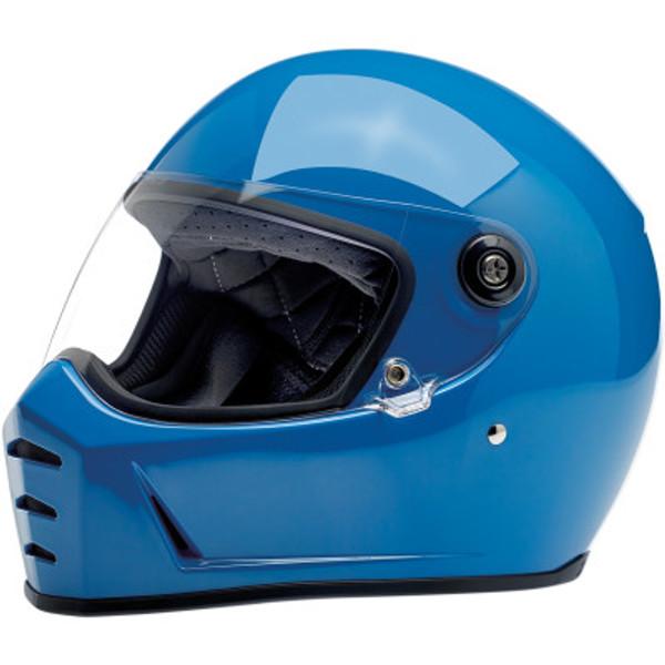 Biltwell Lane Splitter Helmet in Gloss Tahoe Blue