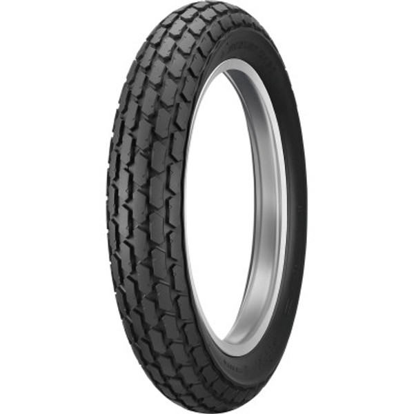 Dunlop K180 Flat Track Scooter Tire- 120/90-10 Front