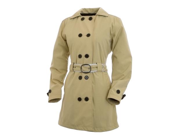 Women's Corazzo Turiste Trenchcoat-Stone-Size XS