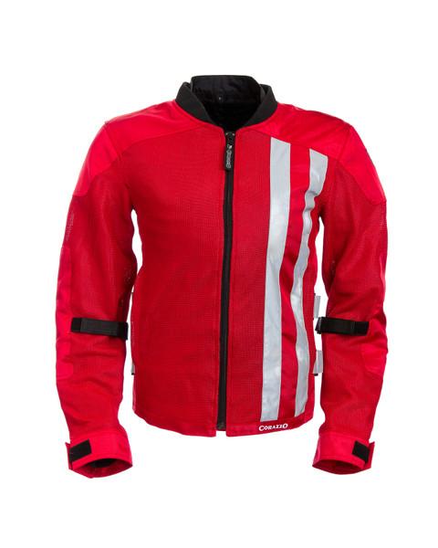 Men's Corazzo Ventata Jacket-Red-XS & Small