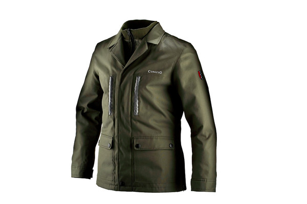Men's Corazzo Tempeste Jacket-Olive-Size XS