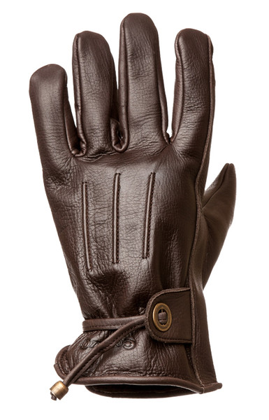 Corazzo Cordero Gloves-Chocolate-Unisex
