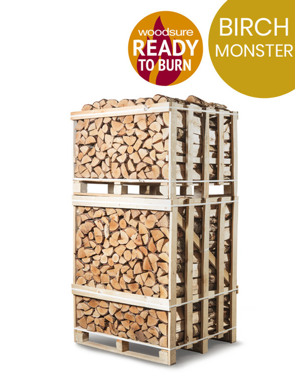 Monster crate of birch logs near me. Logs for sale near me.