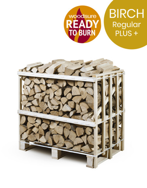 Logs Near Me in regular crates. Birch logs for sale near me. Regular birch crate for sale.