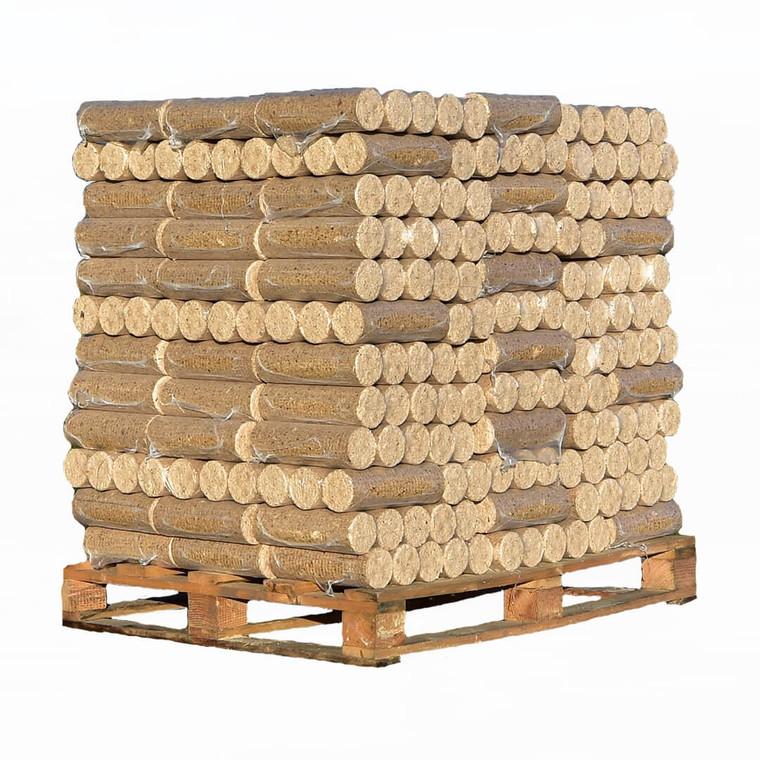 Briquettes full pallet