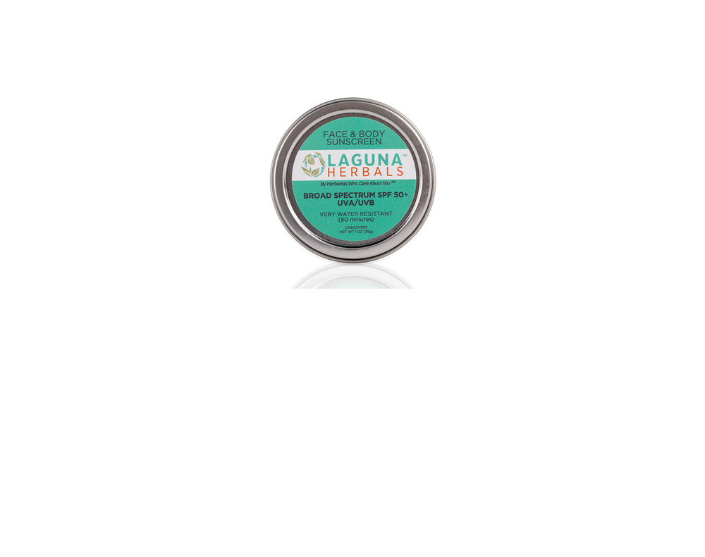 Organic Mineral Sunscreen tin