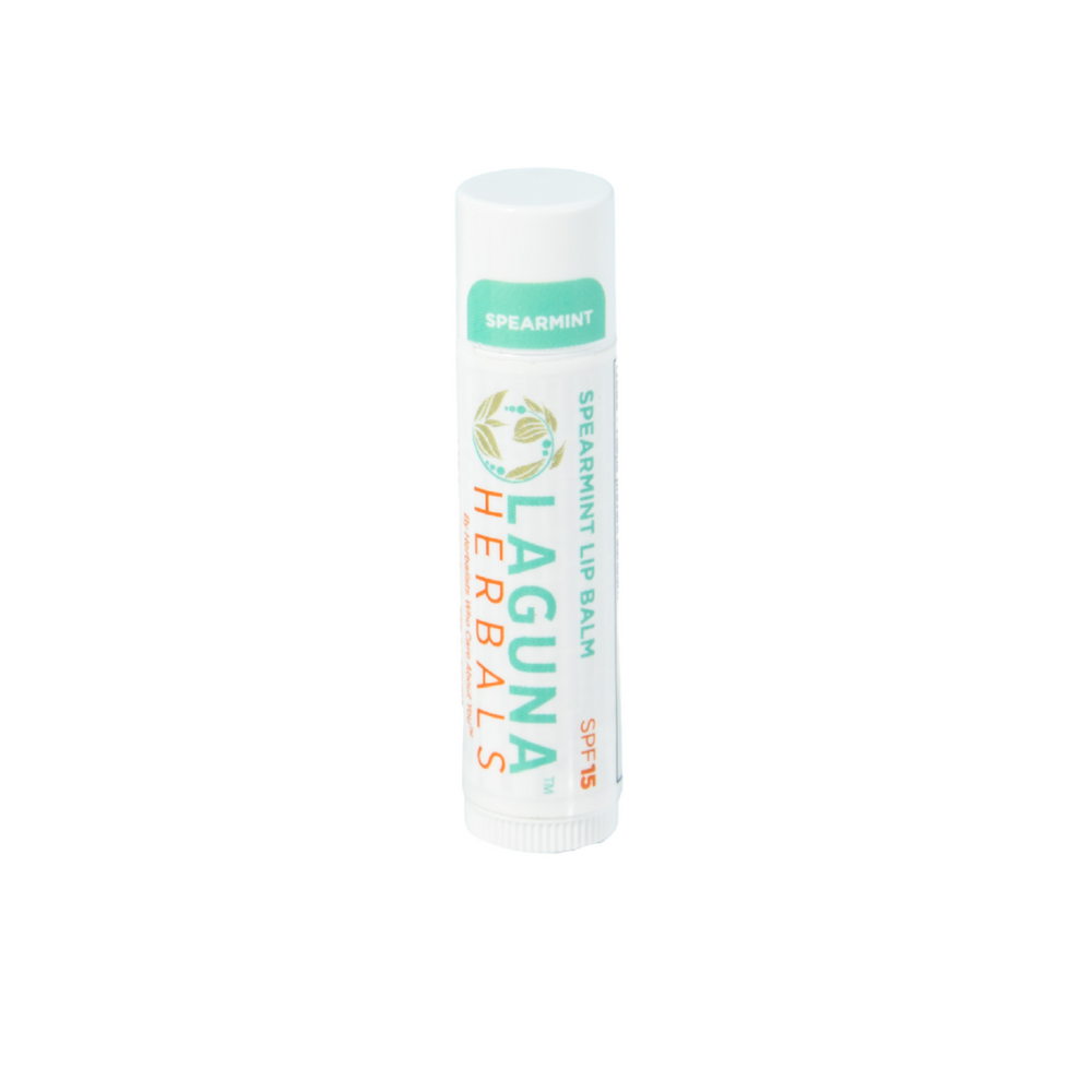 Spearmint Lip Balm with spf 15