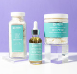Organic milk bath and body holiday gift set