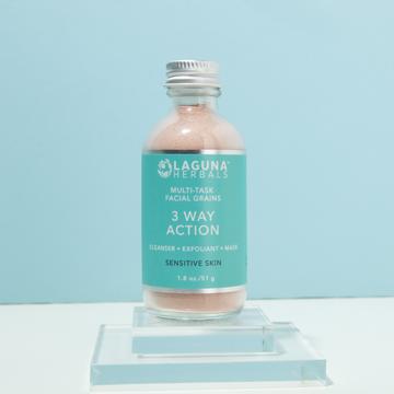 Multi-Task Facial Grains 3 Way Action- Sensitive Skin