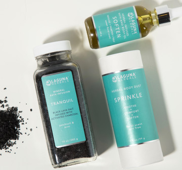 Activated Charcoal Detox Bath Set