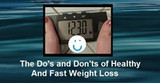 The Do's and Don'ts of Healthy Weight Loss at Any Age