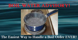 The Ultra Way to Handle a Boil Water Advisory