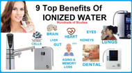 Health Benefits of Drinking Ionized Water