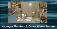 Water Ionizers, Molecular Hydrogen Generators and Water Ionizing Filters