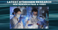 Latest Hydrogen Research, Including Video