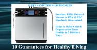 Super-Sanitizer Water Ionizer